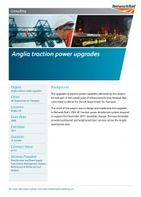 Anglia traction power upgrades