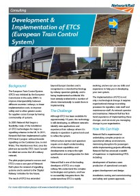 Development Roll out ETCS