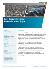 East Croydon Station Redevelopment Project