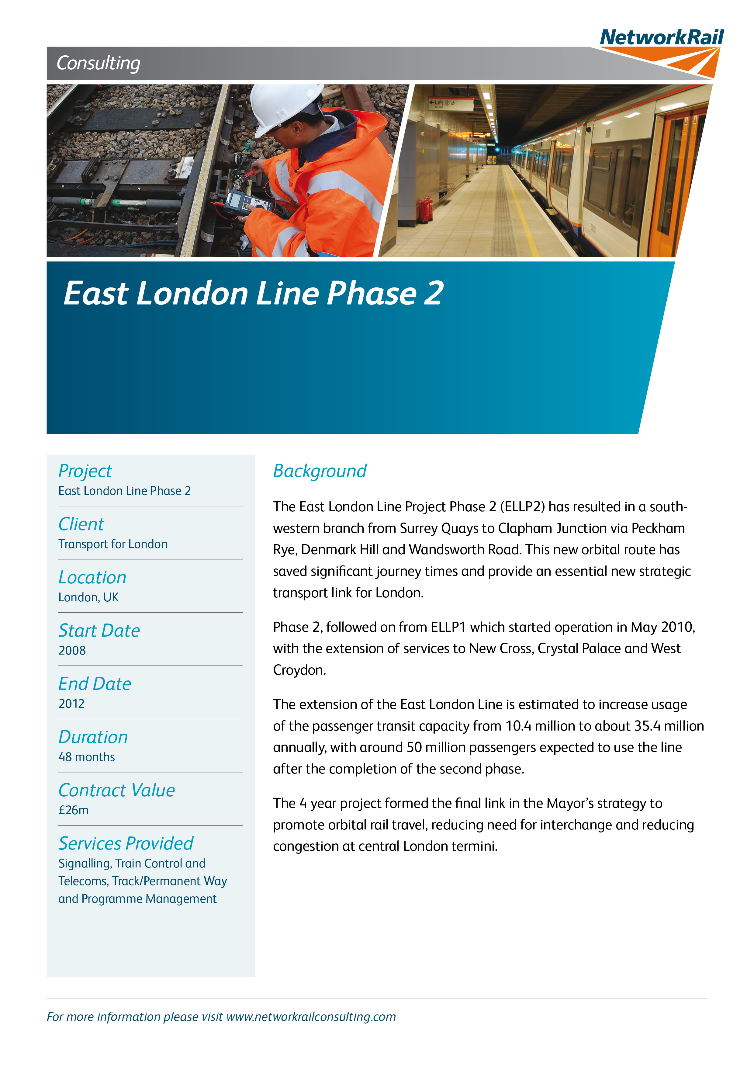 East London Line Phase 2