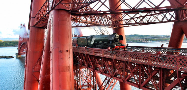 Flying Scotsman Forth Bridge May 15