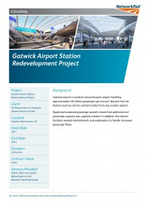 Gatwick Airport Station Redevelopment