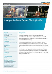 Liverpool Manchester Electrification