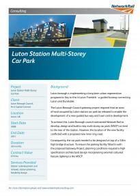 Luton Station MSCP