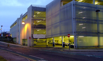 Luton Station Multi Storey Car Park