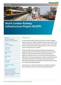 North London Railway Infrastructure Project NLRIP