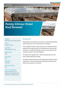 Paisley Gilmour Street Roof Renewal