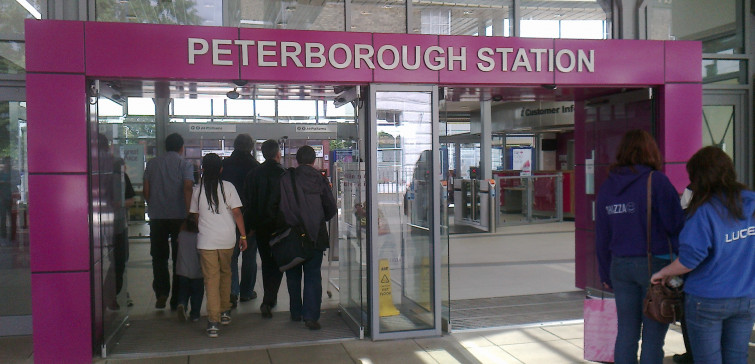 Peterborough Station 002h New entrance