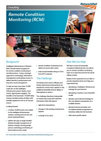 Remote Condition Monitoring RCM