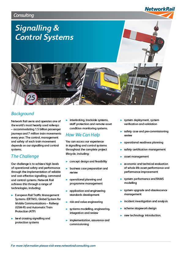 Signalling Control Systems