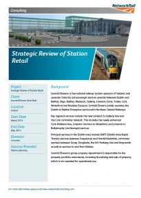 Strategic Review of Station Retail