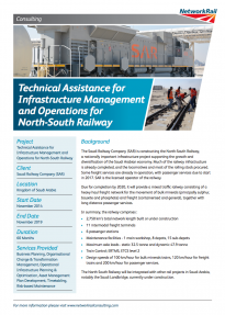 Technical Assistance for Infrastructure Management publication